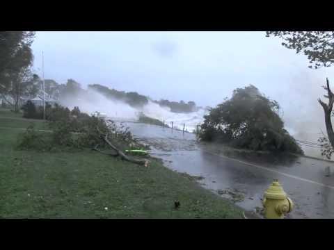 Hurricane Irene, Branford CT