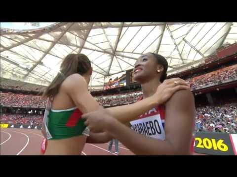 Michelle Lee Ahye 10.98 Women's 100m Heat 3 IAAF World Championship 2015