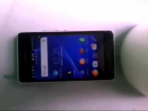 Como tirar print no celular SONY Xperia E1