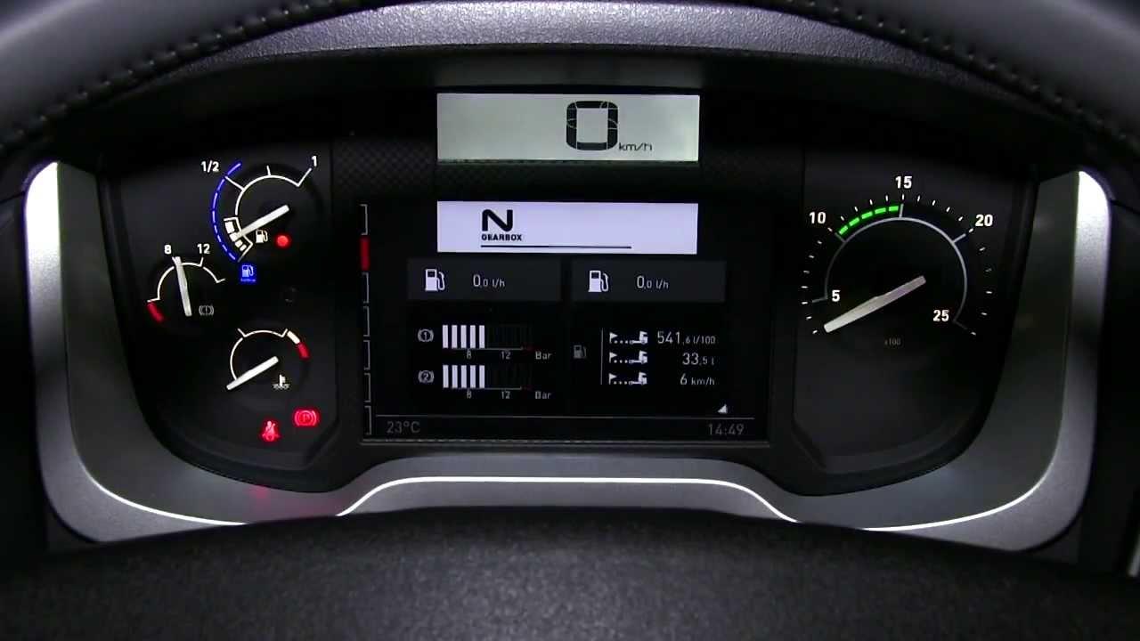 Renault trucks range t youtube for Renault gamme t interieur