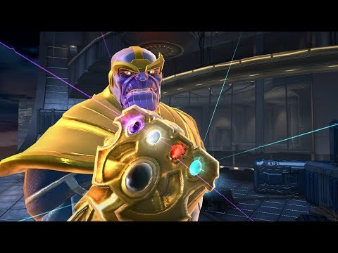 Marvel Contest Of Champions - Thanos Infinity Boss Fight 1 Of 2 Uncollected Mode