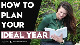 How to Plan Your Ideal Year | The Key Planner