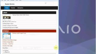 WordPress 3.2 Monitor to Mobile Theme - Alpha