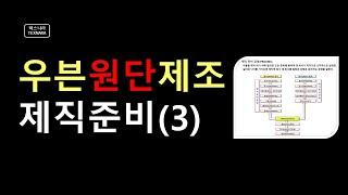 우븐원단만들기 위빙3제직준비 NO.37(텍스나라 TEX…
