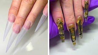 Best Long Nail Designs For Glamorous Girls