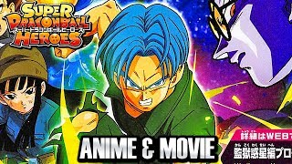 Dragon Ball Heroes ANIME IN JULY & Dragon Ball Super Movie 2018 Vegeta, Beerus, Whis, & Piccolo!