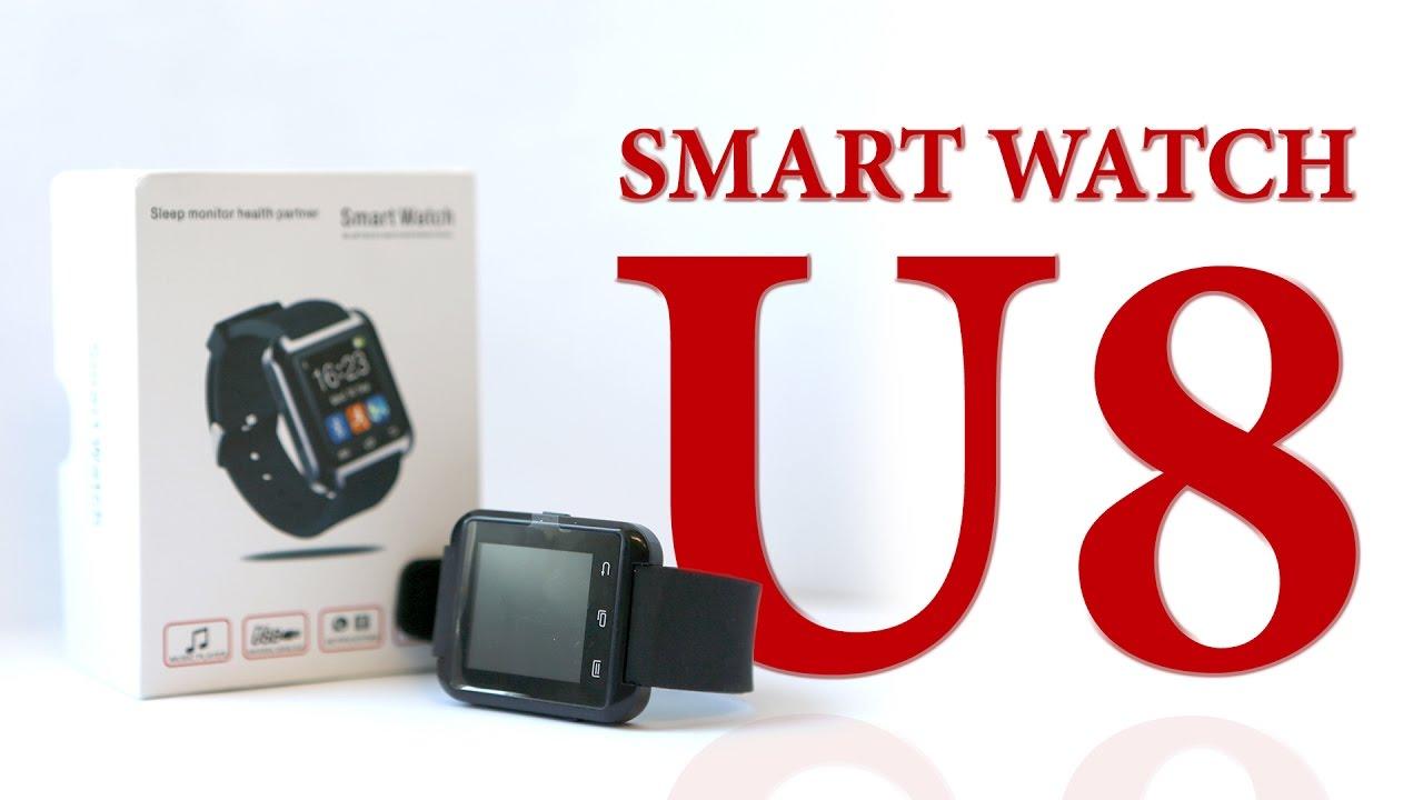 $3 Smart watch U8 - SmartWatch U8 - Умные часы - YouTube