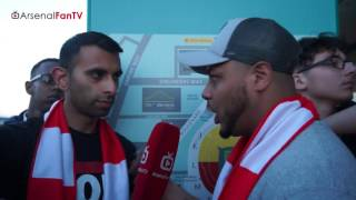 ARSENAL FAN TV   Arsenal 2 Chelsea 1   Aaron Ramsey's Married To Wembley says Troopz