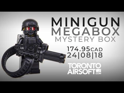 MINIGUN MYSTERY BOX, PISTOLS! 174.95cad 24/08/18- TorontoAirsoft.com