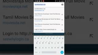 How to download Tamil movies in your android phone for free