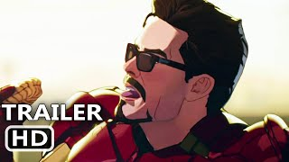 WHAT IF Official Trailer (2021) Iron Man, Marvel Avengers Animated Series HD