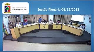 Sessão Plenária 4/12/2018