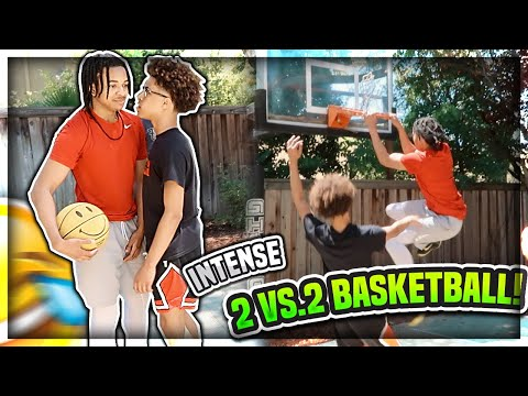 NO MORE GAMES! INTENSE 2V2 *Mini Hoop* Edition Ft.Foreiignboii x Marcelas x Zaytoven