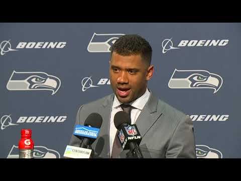 Russell Wilson Week 8 Postgame Press Conference