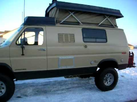 4X4 Lifted Camper Van