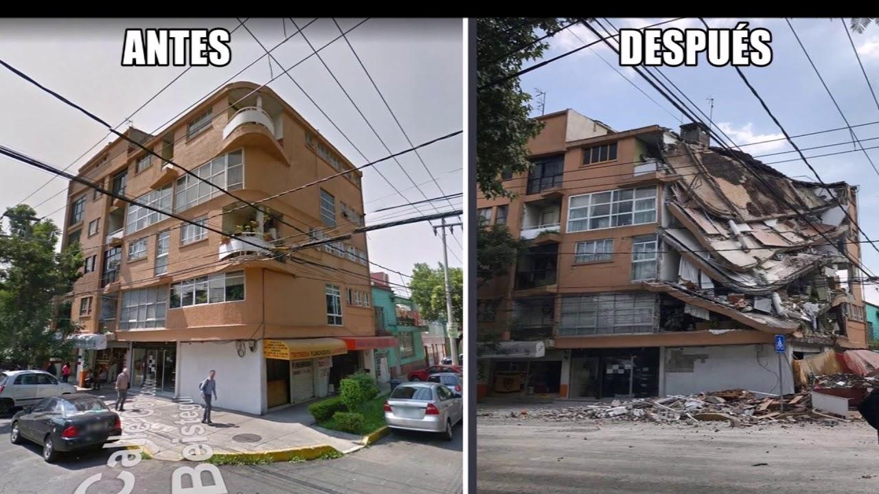 Antes y despu s de temblor 19 sept 2017 cdmx doovi for Cocinas reformadas antes y despues