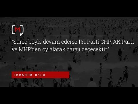 """Uslu: """"Süreç böyle devam ederse İYİ Parti CHP, AK Parti ve MHP'den oy alarak barajı geçecektir"""""""