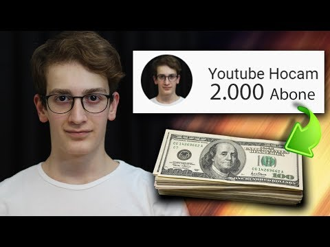 HOW CAN I WIN A LOT OF MONEY WITH SMALL CHANNELS? - Making Money From Youtube
