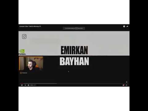 Wtcnn kanser eden twitch montajı (Emirkan. B) izliyor. #wtcnn #twitch #twitchtürkiye #kendinemüzisye