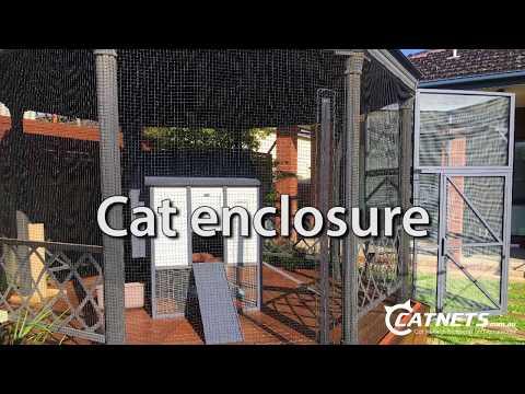 Catnets | Cat Enclosures, Cat nets, Cat Netting, Cat Runs