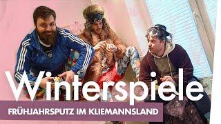 Hauke kommentiert: Wintersport-Putz-Marathon im | Kliemannsland