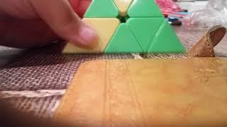 Видео урок как собрать пирамидку кубик рубика #2 последняя часть