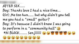 Kenyan comedy.... 😂