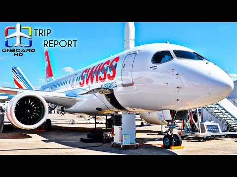 TRIP REPORT | Swiss | NEW Airbus A220 (CS100) | Zurich - Budapest