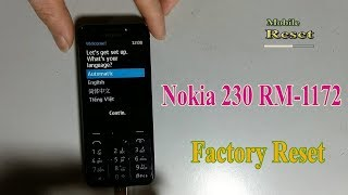 Nokia 230 security code Factory Reset with Nokia Software Recovery Tool 8.1.25.