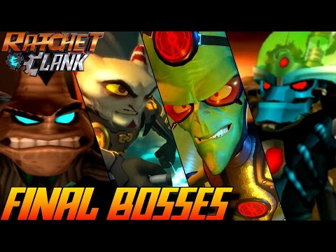 Ratchet & Clank - ALL Final Bosses 2002-2016 (PS4, PS3, PS2, PSP)