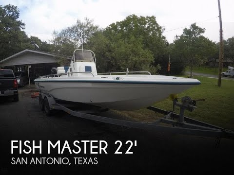 [SOLD] Used 2003 Fish Master 22 Travis Edition In San Antonio, Texas