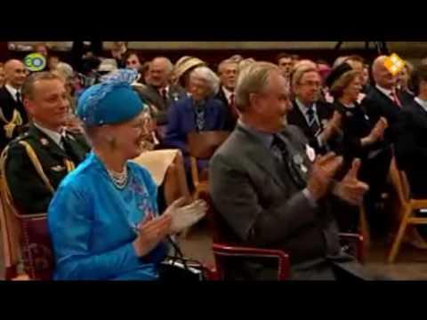 Cronet Dronning Margrethe II af Danmark fylder 70 år