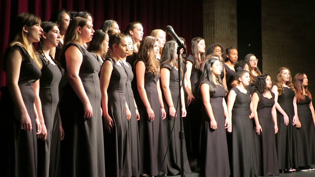 Leonia High School Women S Choir My Best Friend Wedding Spring Concert 5 24 17
