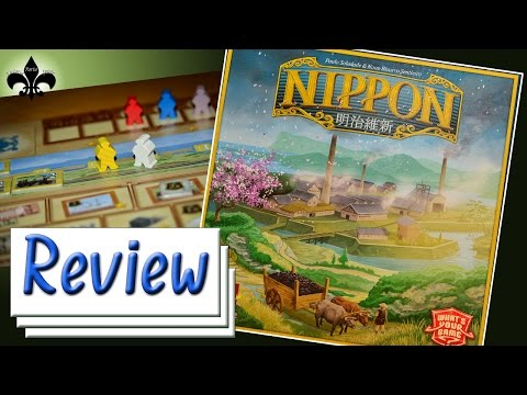 Nippon Brettspiel Review What's Your Game Essen 2015 / GER