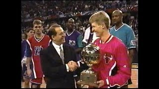 Steve Kerr - 1997 NBA 3-Point Shootout (Full Performance, Champion)