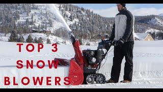 Best Snow Blower On The Market In 2018/2019 Winter Season - Snow Shovel Problem Resolved