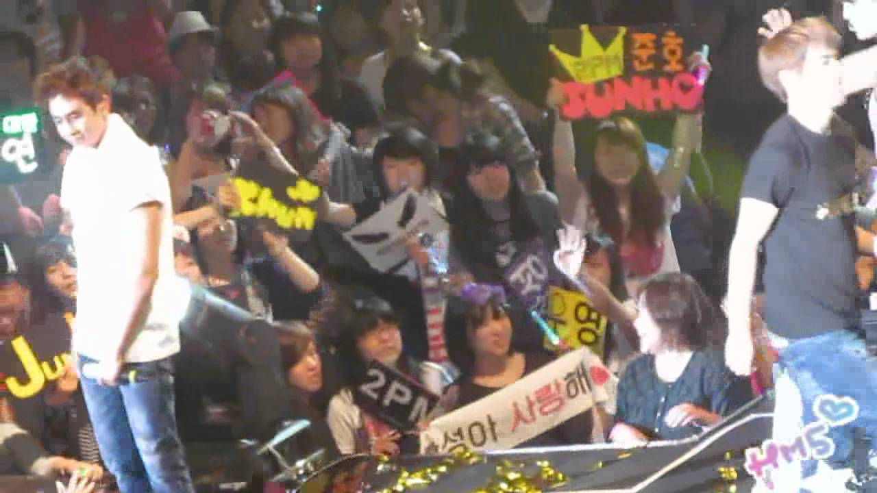 """Download [happymate5] 2011/10/08 2PM """"HANDS UP"""" Asia Tour in Taipei - THANK YOU"""