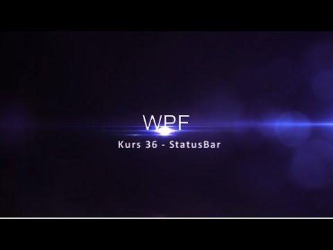 Kurs 36 - StatusBar