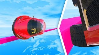 0.1% Can COMPLETE the THINNEST Tightrope Challenge! - GTA 5 Funny Moments