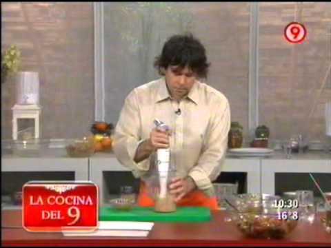 Brochete de carne con ensalada de vegetales asados 4 de for Cocina 9 ariel rodriguez palacios facebook