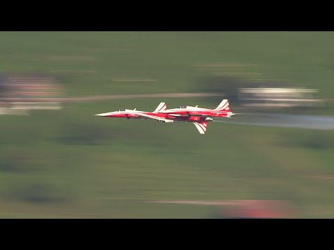 Patrouille Suisse Training Buochs 2014.09.29 -Long Version-