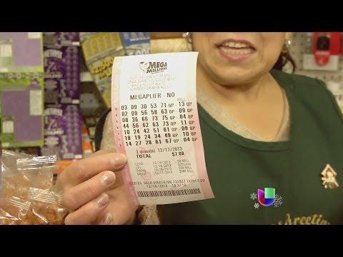 """Fiebre de lotería por el """"Mega Millions"""" -- Noticiero Univisión"""