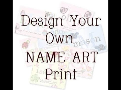 Design Your Own Name Art Fnf Youtube