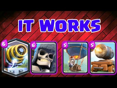 Best Cannon Cart Deck With Giant Skeleton Sparky And Balloon