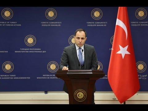 Dışişleri Bakanlığı Sözcüsü Tanju Bilgiç'in Basın Bilgilendirme Toplantısı, 15 Şubat 2016, Ankara
