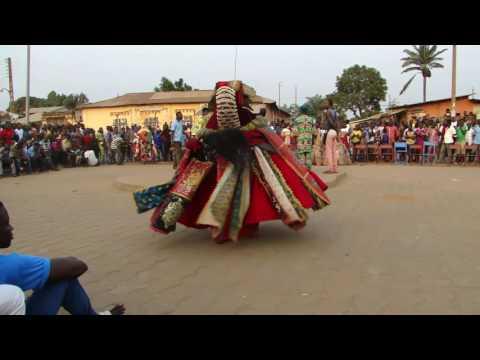 Danse des revenants Ouidah 14 janvier 2016