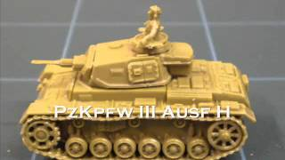 Miniature Review - 15mm Panzer III from Plastic Soldier Company