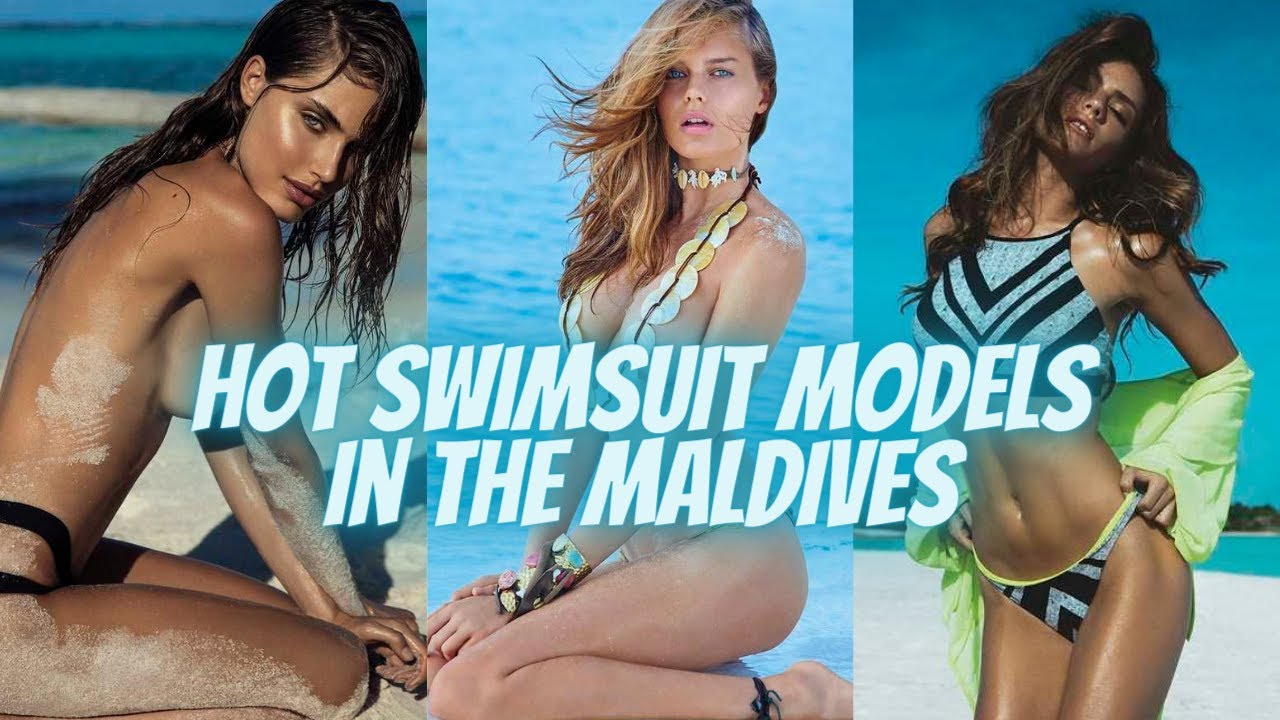 Hot Swimsuit Models in the Maldives