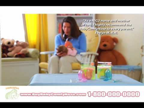 Baby Comfy Nose Most Effective Nasal Aspirator Youtube