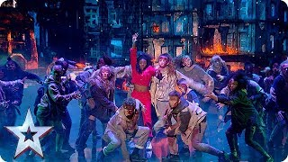 RUN for your lives! Futunity are on the loose! | Semi-Finals | BGT 2018